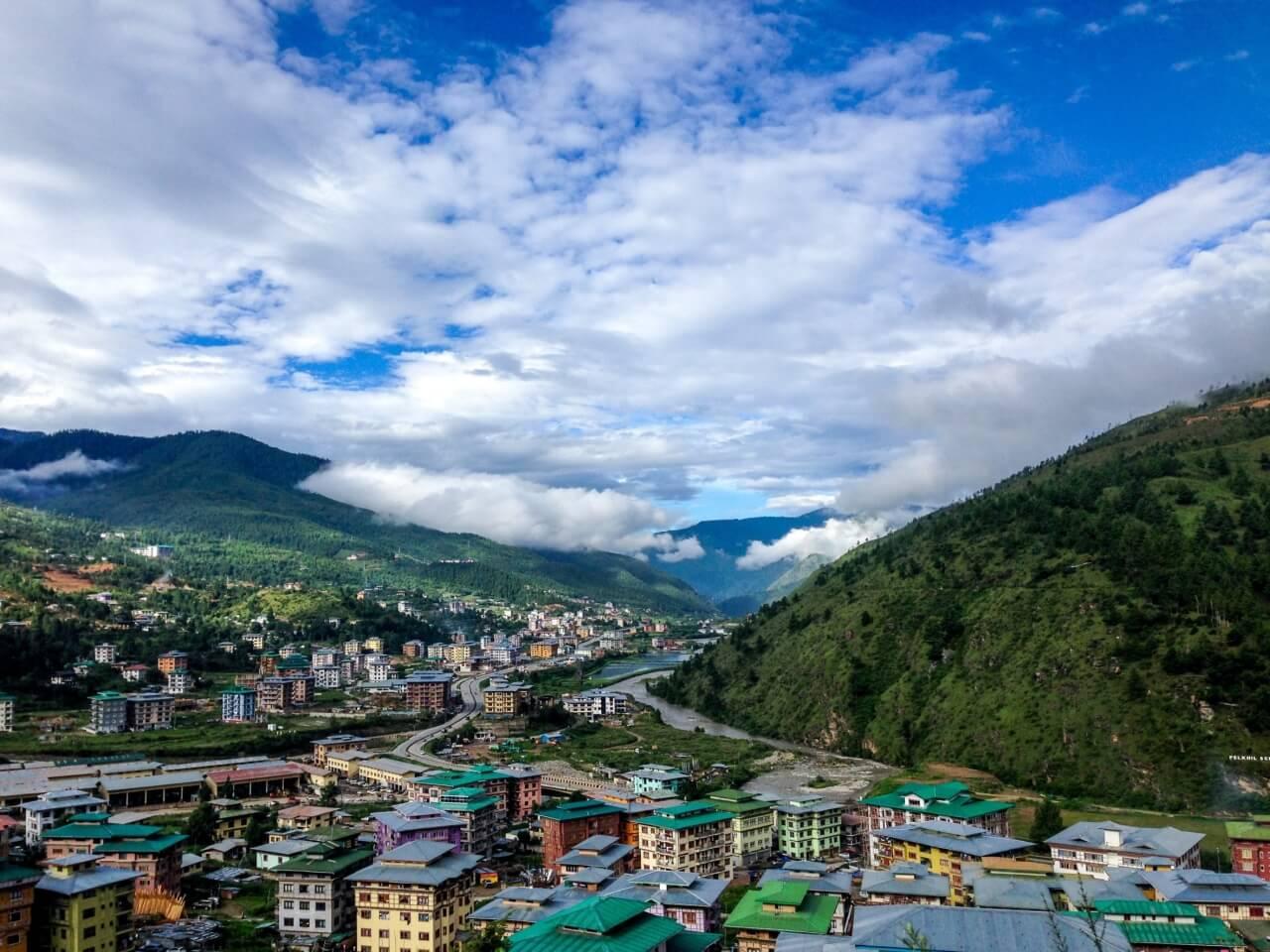 Bhutan Rundreise 1