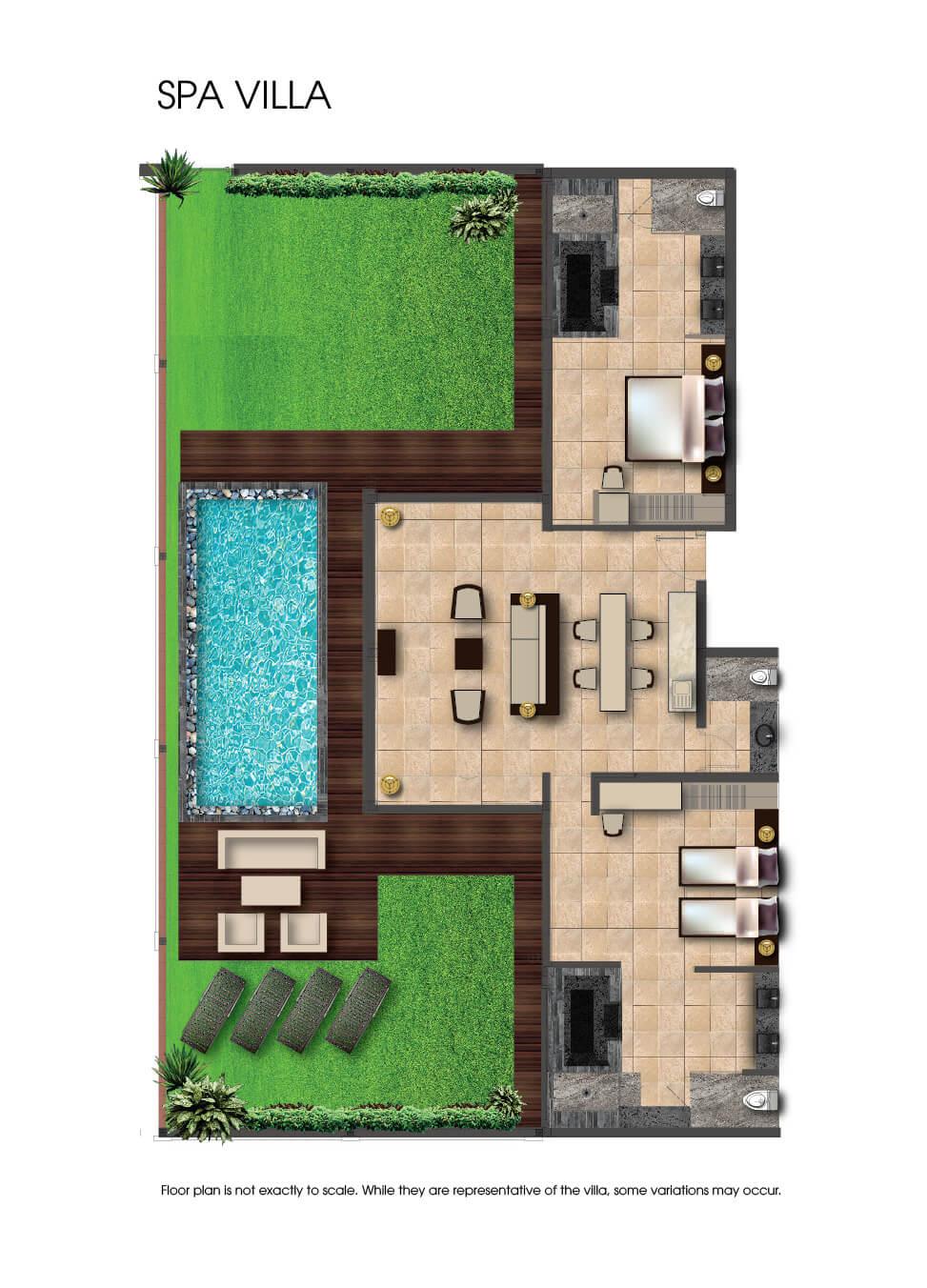 Fusian Maia In A Pool Villa