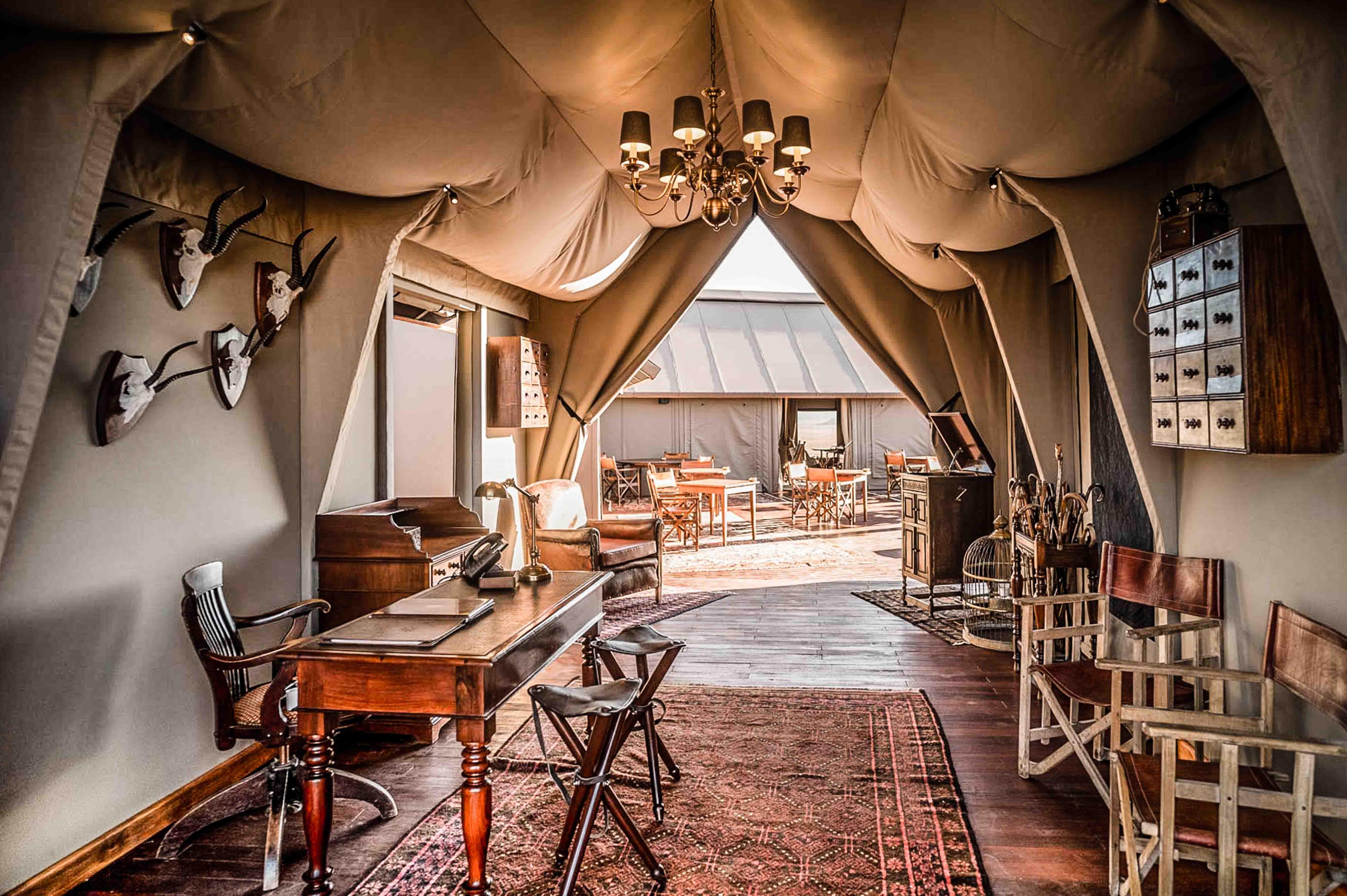 Safari Reise Glapming Namibia