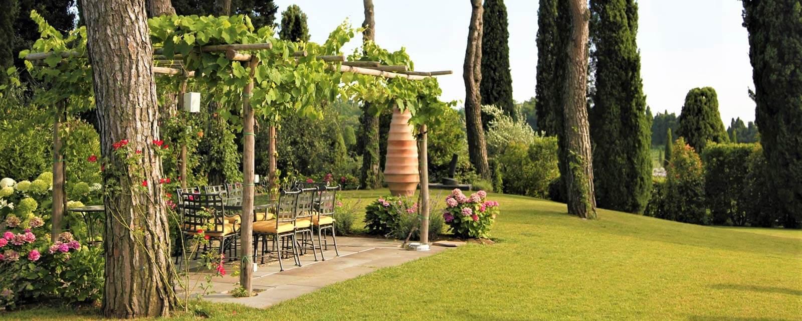 La scuderia exklusives ferienhaus in der toskana bei lucca zur miete - Toskana garten ...