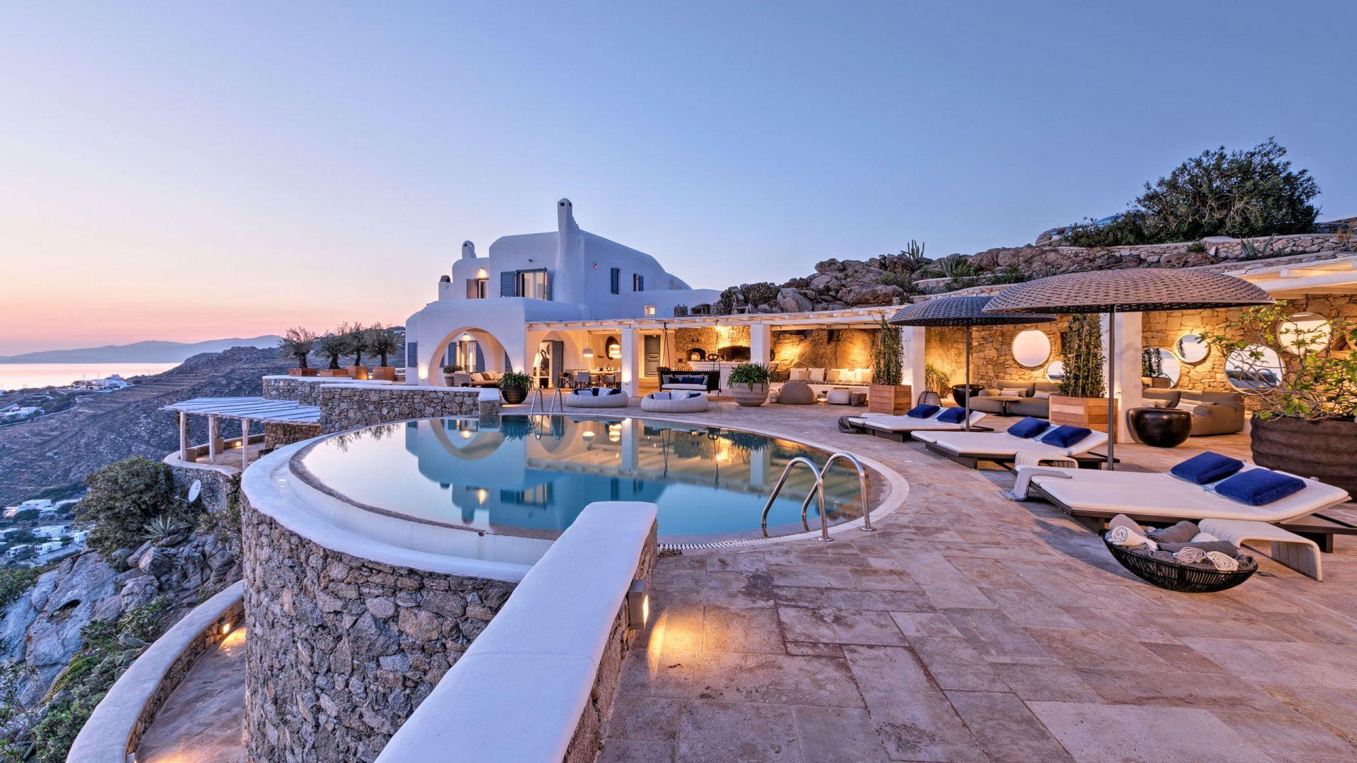 Ferienhaus Mykonos 7 Schlafzimmer - Agia Sofia Retreat