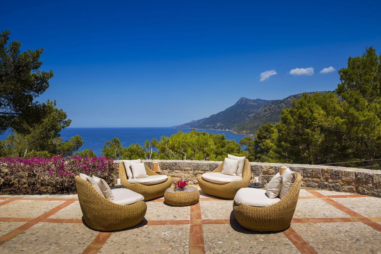 Exklusive Finca auf Mallorca am Meer mieten mit Koch & Hauspersonal