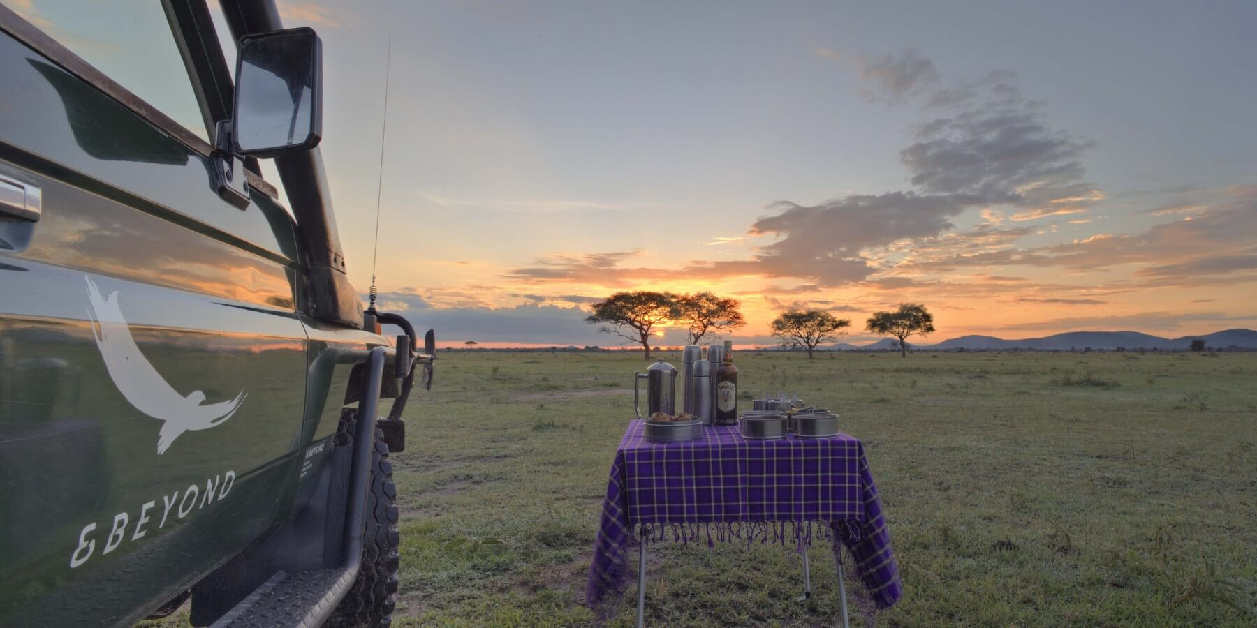 andbeyond grumeti serengeti tented camp tansania bei landmark buchen. Black Bedroom Furniture Sets. Home Design Ideas