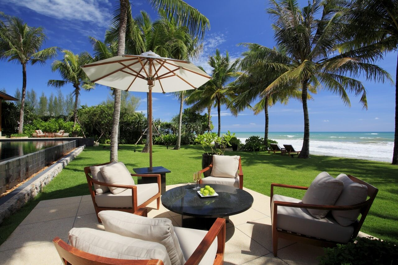 villa nandana phuket natai beach bei landmark mieten. Black Bedroom Furniture Sets. Home Design Ideas