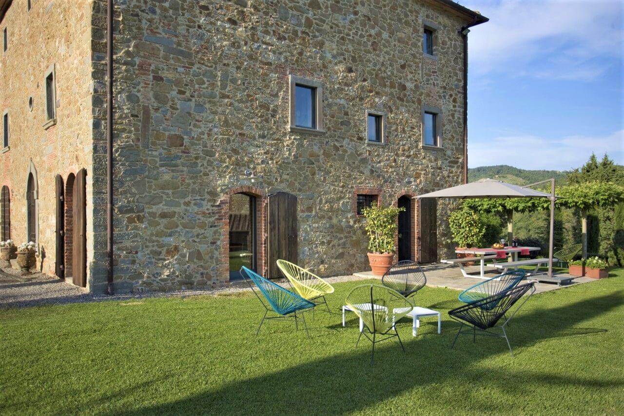 Villa marta ferienhaus in der toskana chianti region - Toskana garten ...